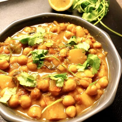Chickpea curry cook online