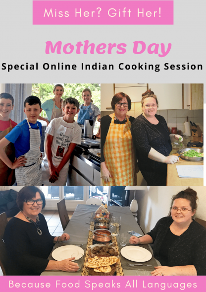 Mother's Day Indian Cooking Class
